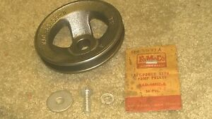 Rare Nos 1953 53 Ford Mercury P Strg Pump Pulley More