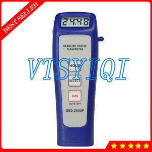 Ged2600p Digital Non contact Measurement Engine Tachometer For Motor Machine