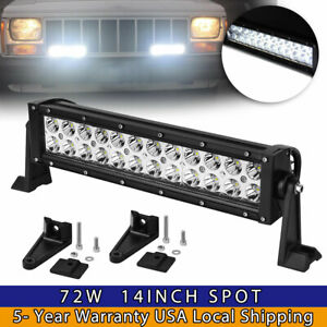 For 52 Led Light Bar Steel Windshield Mounting Bracket For Jeep Wrangler Tj97 06