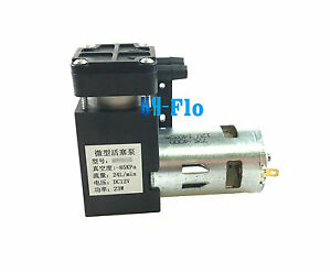Micro Air Vacuum Pump 12v 24l m 23w Air Compressor Electric Pump