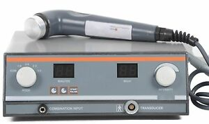 Ultrasound Therapy Equipment Personal Use Pain Relief 1 Mhz With Preset Program