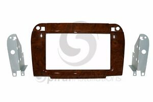 Mercedes Benz S class 2002 2006 Radio Stereo Dash Kit Standard 2din Wood