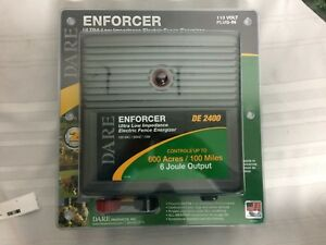 110v Electric Fence Energizer no De 2400 Dare Products Inc