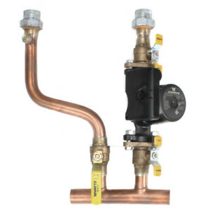 Timesaver Primary Secondary Piping Manifold 1 25 Swt For Challenger Solo Boiler