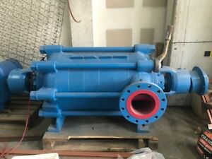 Sulzer Multistage Pump Boiler Feed Pump Nsg Viii 6x8 5 Stage Located In Mexico