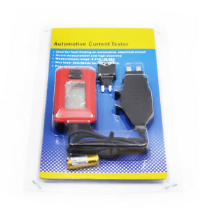 Ae150car Electrical Current Tester By Fuse Galvanometer Diagnostic 12v Superfine