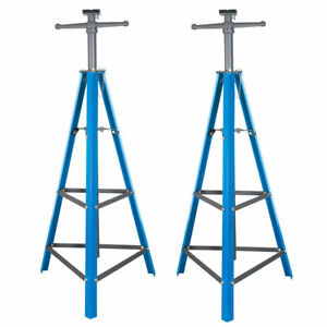 2 Ton Tri Pod Under Hoist Stand 53 80 Support Hoist Lift Floor Car Stand X2