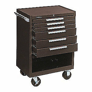 Kennedy Steel Tool Cabinet 27 W 18 D 376xb Brown