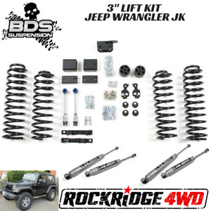 Bds Suspension Jeep Wrangler Jk 12 18 3 Lift Kit 2 Door 4wd W Quick Disconnect
