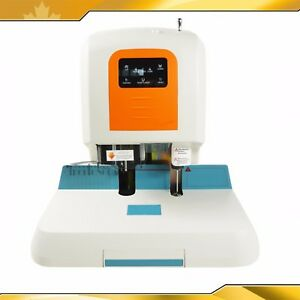 Riveting Tube Document Binding Machine Binder Laser Positioning Free Shipping