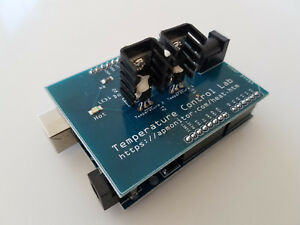 Pid Lab Arduino Shield And Kit With Led 2 Temperatures And 2 Heaters