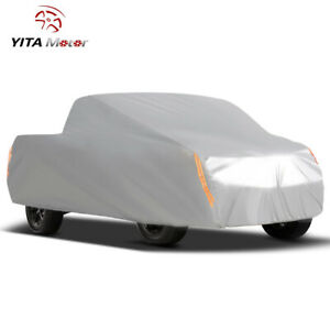 Yitamotor Pickup Truck Cover Breathable All Weather Protection Rain Resistant