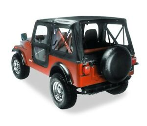 Bestop Replace a top Fabric only Soft Top For 1976 1983 Jeep Cj5 51117 01