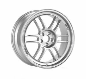 Enkei Rpf1 18x9 Wheel Lightweight Racing Silver 5x114 3 35 R32 R34 18 X 9