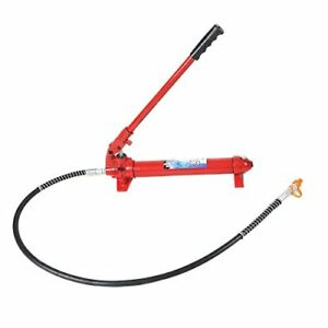 2000lbs 10 Ton Hydraulic Jack Hand Pump Ram Replacement For Porta Powe