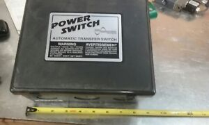 Todd Engineering Ps245s Rv Generator Automatic Transfer Switch