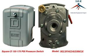 Square D By Schneider Electric 9013fhg54j59m1x Air compressor Pressure Switch