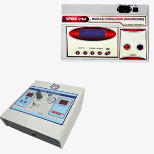 Electrotherapy Unit Ultrasound Pain Relief Physiotherapy Machine