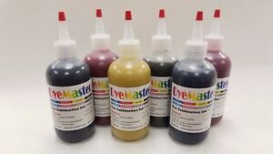 Dyemaster Sublimation Ink 6 color Combo Pack 8 Oz 240ml X 6 Bottles