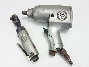Vintage Chicago Pneumatic Air Wrench Air Impact Ratchet