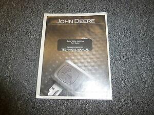 John Deere Gator Utility Vehicles Turf Shop Service Repair Manual Tm1686