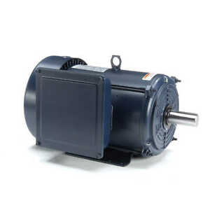 Leeson Electric Motor 140685 00 10 Hp 3600 Rpm 1 ph 208 230 Volt 215t Frame