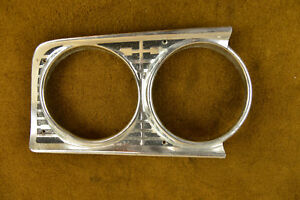 1963 Ford Fairlane Passanger Headlight Bezel a