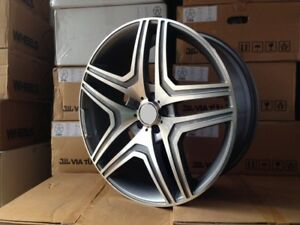 20 Amg Style Wheels Rims Fits Mercedes Benz Suv Ml550 63 2015 New Model