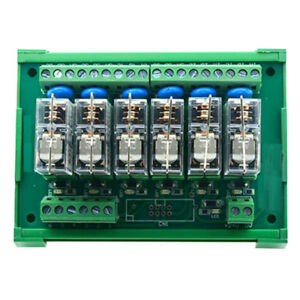 Dc12v 6 Channels Omron Relay Module Plc Amplifier Board G2r 1 e Relay Module