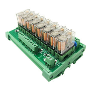 Dc12v 8 Channels Omron Relay Module Plc Amplifier Board G2r 1 e Relay Module