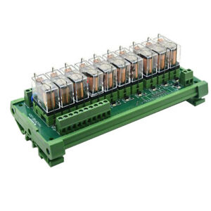 Dc12v 10 Channels Omron Relay Module Plc Amplifier Board G2r 1 e Relay Module