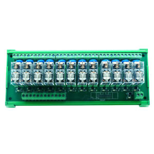 Dc12v 12 Channels Omron Relay Module Plc Amplifier Board G2r 1 e Relay Module