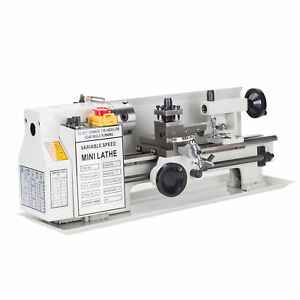 Variable speed Mini Metal Lathe 7 X 12 High Quality 400w Woodworking