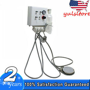 Wall Mouted Portable Dental Turbine Unit Work With Air Compressor 4hole