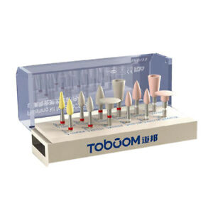 Toboom Dental Polishing Kit Pressible Porcelain For Low speed Handpiece Ra1212d