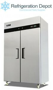 Migali C 2f Reach in Freezer Double Door 49 Cu ft