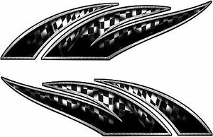Boat Car Truck Trailer Motorcycle Racing Graphics Decals Stickers Checkered Flag
