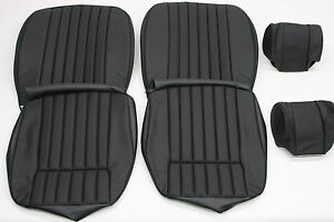 New Jaguar Xke E type S2 Leather Seat Cover With Headrest Original Specification