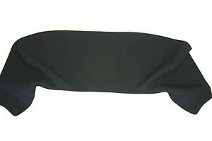 Porsche 356 model B And C Cabriolet Canvas Boot Cover 1960 1965 Black