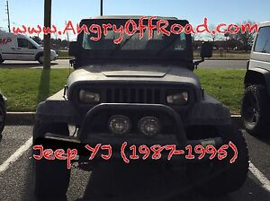 Angryoffroad Jeep Wrangler Yj Angry Eyes Headlight Trim