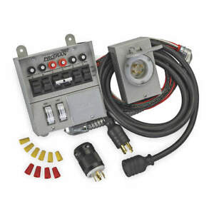Reliance Manual Transfer Switch 60a 125 250v 31406crk Gray