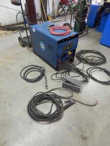 Miller Dialarc Hf Tig Stick Welder With Foot Pedal Tig And Stick Welding Leads