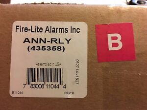 Fire lite Alarms Honeywell Ann rly Relay Board New In Box Free Shipping