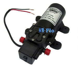 Hsh flo 12v 70psi 2 6lpm Mini Diaphragm Water Pump For Agriculture Irrigation