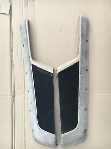 Porsche 968 944 Turbo S S2 Door Panel Speaker Grille Armrest Tan