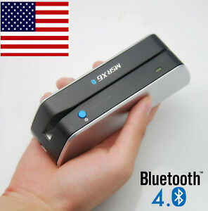 Bluetooth Credit Card Reader Writer Encoder Magnetic Card Swipe Msrx6bt Msr X6bt