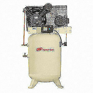 Ingersoll Rand Electric Air Compressor 2 Stage 10 Hp 2545k10v