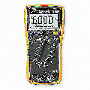 Fluke Digital Multimeter 600v 40 Mohms 10a Fluke 115