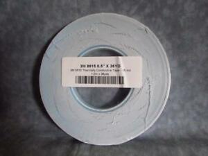 3m 8815 Thermally Conductive Adhesive Transfer Tape 1 2 X 36 Yards U47