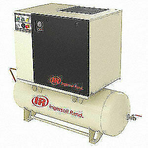 Ingersoll Ran Rotry Scrw Air Cmpresr W air Dryer 15 Hp Up6 15ctas 150 120 460 3
